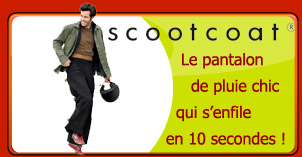 pantalon de pluie pour scooter scootcoat by urbahia