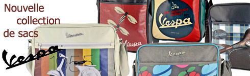 sac vespa - nouvelle collection officielle