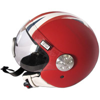 Casque union jack andrea cardone cuir