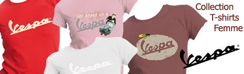 t-shirts vespa femme